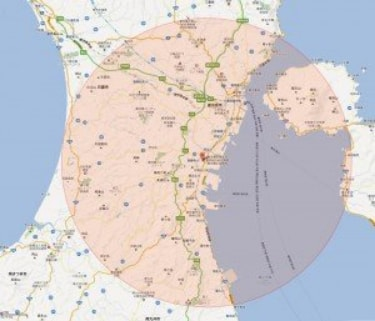 訪問可能エリアは桜島・垂水を除く当院から半径16kmの範囲です
