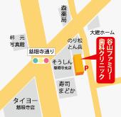 谷山ファミリー歯科クリニック 地図