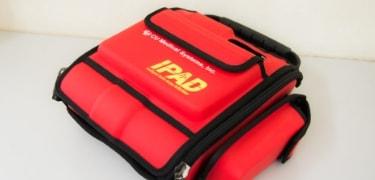 AEDを備え付けてあります。